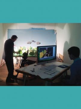 Atelier découverte du cinéma d'animation