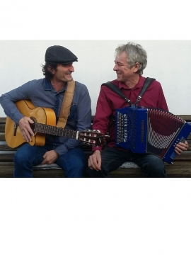 Autour du canal : concert Ronan Robert et Jacques Moison