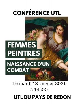 Conférence UTL : Femmes peintres, naissance d'un combat