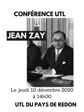Conférence UTL : Jean Zay