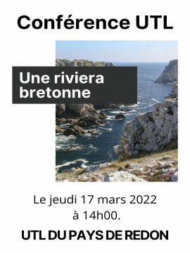 Conférence UTL : Une riviera bretonne