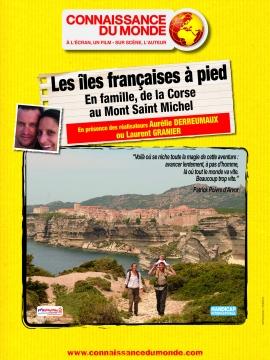 Les îles françaises à pied, en famille, de la Corse au Mont Saint-Michel