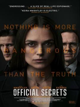 Rediffusion du coup de cœur du public de la Quinzaine du film anglophone : Official Secrets