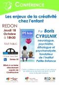 Conférence Les enjeux de la créativité chez l'enfant